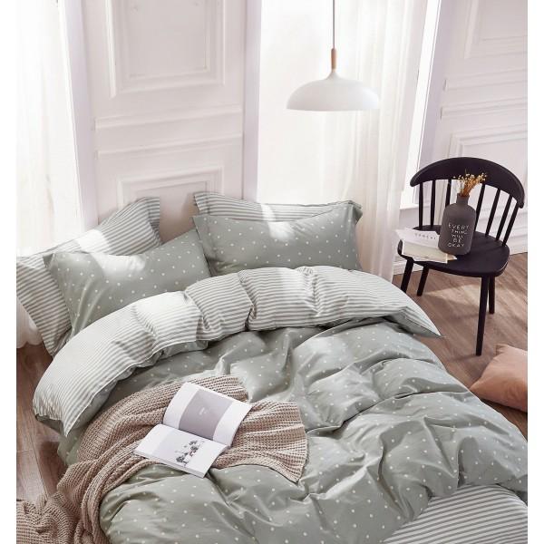 Σετ 5 Τεμαχίων Σεντόνια και Πάπλωμα Υπέρδιπλα PALAMAIKI BED IN A BAG COLLECTION B0676