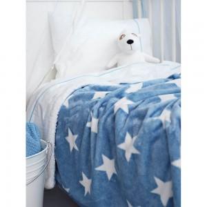 Κουβέρτα Παιδική Μονή (με Γούνα) PALAMAIKI STAR CIEL