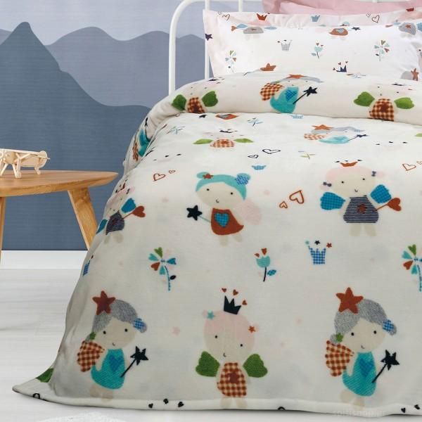 Κουβέρτα Fleece Μονή 160x220 DAS HOME KID LINE 4654