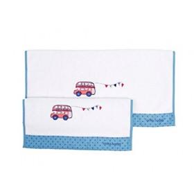 Πετσέτες Σετ 2τεμ LAURA ASHLEY LONDON BUS