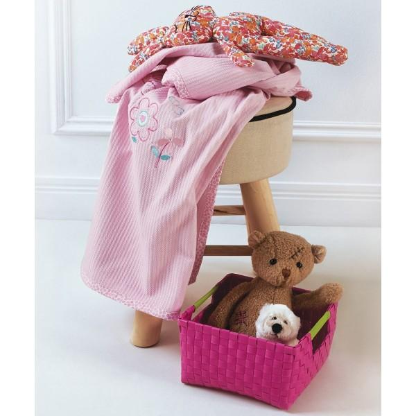 Κουβέρτα Βαμβακερή Αγκαλιάς KENTIA GARDEN