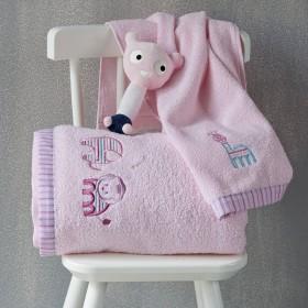 Πετσέτες Βρεφικές Σετ 2τεμ KENTIA LION