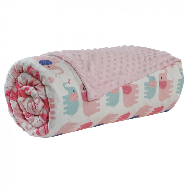 Κουβέρτα Κούνιας Bubble Fleece 110x150 Blanket Line DAS BABY 6487